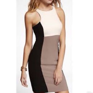 Express Color Block Dress